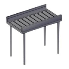 Стол приемный MACH URF/15 (для чистой посуды) с роликами для MACH MST/015