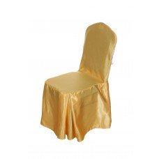Чехол на стул «Юбка 4 складки по ножкам с бантом»