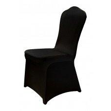 Чехол универсальный на стул из бифлекса цвет черный