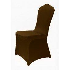 Чехол универсальный на стул из бифлекса цвет коричневый