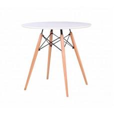 Стол обеденный «Eames D 800 мм, 4 ножки» нераздвижной