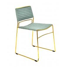 Стул «Джеймс» с мягким сиденьем (хромированный каркас)