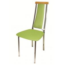 Стул «Экстра с мягкой спинкой» с мягким сиденьем (хромированный каркас)