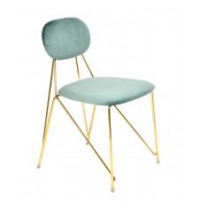Стул «Эмин» с мягким сиденьем (хромированный каркас)