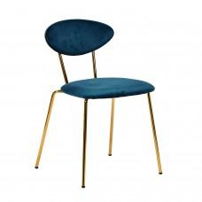 Стул «Наоми» с мягким сиденьем (хромированный каркас)