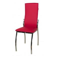 Стул «Пекин Хром» с мягким сиденьем