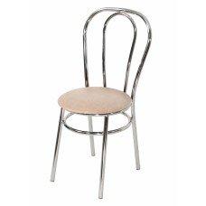 Стул «Венский» с мягким сиденьем (хромированный каркас)
