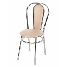Стул «Венский с мягкой спинкой» с мягким сиденьем (хромированный каркас)