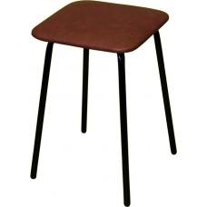 Табурет «Простой» ТМ 7/11-01 с мягким сиденьем (окрашенный каркас)