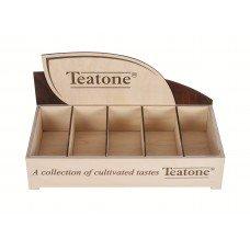 Бокс деревянный TEATONE, для пакетированного чая/стиков 382х190х180 мм
