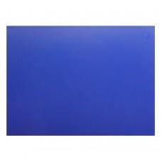 Доска разделочная 600х400х18 мм синий полипропилен