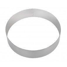 Форма для торта круглая Luxstahl 160 мм нержавеющая сталь