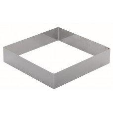 Форма для торта квадратная Luxstahl 260 мм, нержавеющая сталь