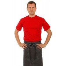 Футболка мужская красная с коротким рукавом