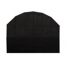 Колпак поварской одноразовый чёрный [86051]