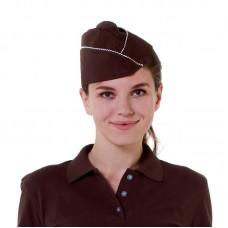 Пилотка коричневая [016]