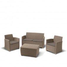 Комплект мебели «Кемер-3» из пластика