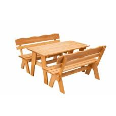 Комплект разборной мебели (стол 1480х700 мм и скамьи 2 шт)