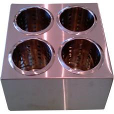 Контейнер для столовых приборов 4 ячейки [FL1702]