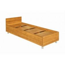 Кровать односпальная с изголовьем 833х2033х700 мм