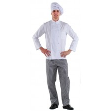 Куртка шеф-повара белая мужская [00001]