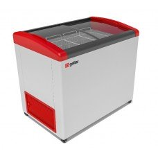 Ларь морозильный GELLAR FG 375 E красный