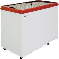 Ларь морозильный ITALFROST CF 400F красный