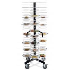 Тележка-шпилька MetalCarrelli на 96 тарелок (180 мм и 240 мм) [3010]