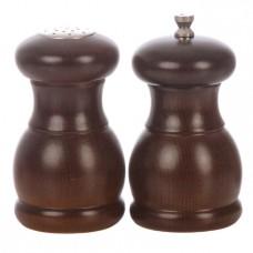 Мельница для перца и солонка 115 мм PEPPERSTYLE BY BISETTI темное дерево [53/53ST]
