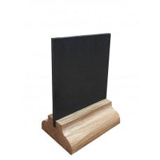 Меловая табличка А8 на деревянной подставке