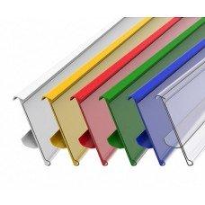 Ценникодержатель 1000 мм цветной (тип А988)
