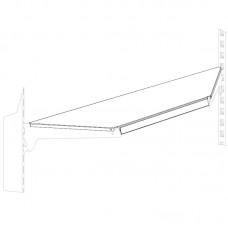 Полка угловая внутренняя 370 мм