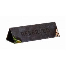 Табличка настольная «Резерв-Суши»