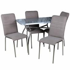 Обеденный комплект (1+4) Дуолит стол + 4 стула София