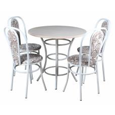 Обеденный комплект (1+4) ЛДСП стол + 4 стула Венский (эмаль)