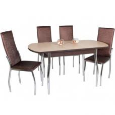 Обеденный комплект (1+4) Милтон стол + 4 стула