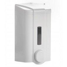 Диспенсер для жидкого мыла с индикатором бело-серый [S4]