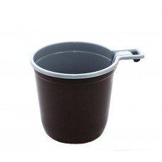 Чашка одноразовая пластиковая 200 мл 1250 шт [111401]