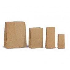 Пакет бумажный 220х120х290 мм 1000 шт крафт