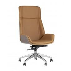 Кресло руководителя «Crown» с мягким сиденьем