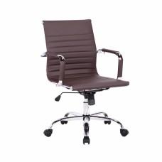 Офисное кресло «City S» с мягким сиденьем (хромированный каркас)