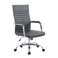 Офисное кресло «Unit» с мягким сиденьем (хромированный каркас)