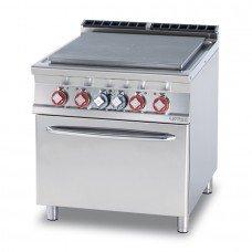 Плита электрическая LOTUS TPF-98ET сплошная поверхность нагрева, с жарочным шкафом (серия 90)