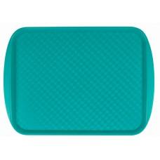 Поднос столовый из полистирола 450х350 мм зеленый [422106609]