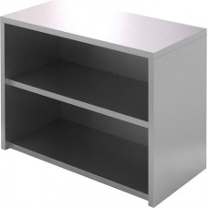Полка-шкаф настенная открытая CRYSPI ПКПО 1200/400 (без дверей)