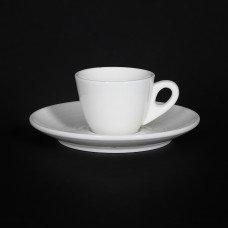 Чашка кофейная «Corone Caffetteria» 80 мл белый