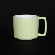 Кружка «Corone Caffetteria» 360 мл зеленая