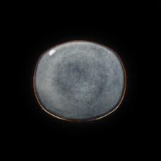 Тарелка овальная «Corone Celeste» 200х176 мм синий