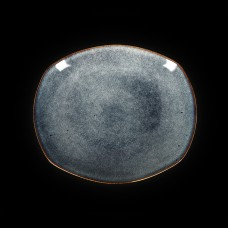 Тарелка овальная «Corone Celeste» 305х260 мм синий