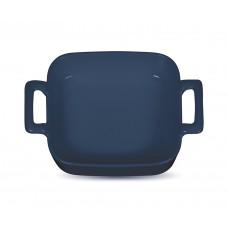 Форма для запекания с двумя ручками «Corone» 130х130 мм синяя